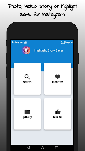 Highlight Story Saver for Instagram 2.4.1 gameplay | AndroidFC 1