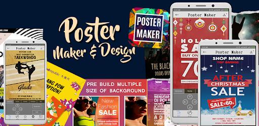 poster maker banner design flyer maker ad maker apps on google play