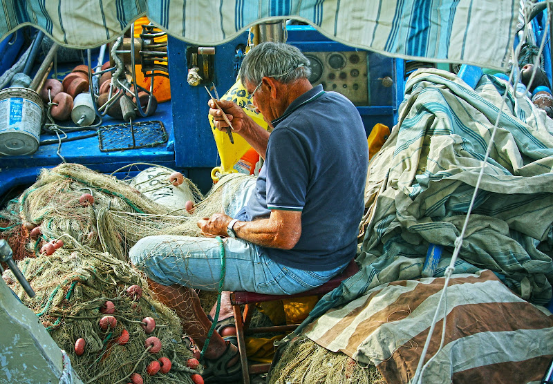 La rimessa del pescatore di Naldina Fornasari