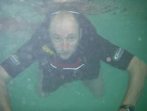 Photo: 2. Sea creature sighted at Club session