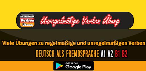 Unregelmäßige verben Deutsch - Apps on Google Play
