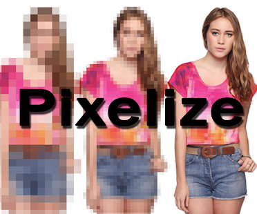 Pixelize Camera Censored Photo - náhled