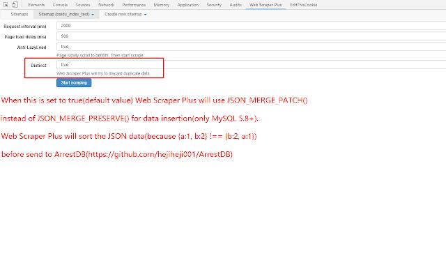 Web Scraper Plus