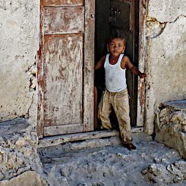 Zanzibar Child 2  by Doug Hilson - Babies & Children Children Candids
