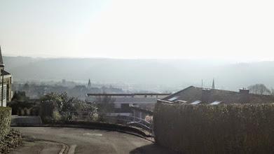 Photo: 15:07 Uhr: Blick vom Ehrenmalweg auf Alt-Wetter