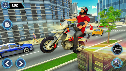 US Motorcycle Parking Off Road Driving Games filehippodl screenshot 4