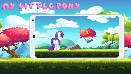 My Little Unicorn Pony Runner