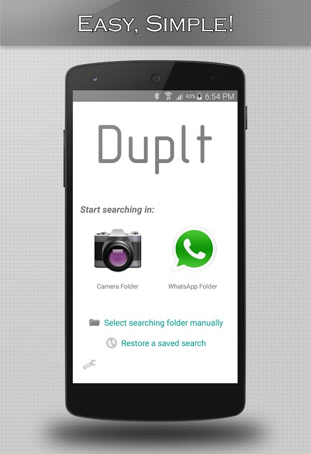 Duplt- Duplicate image cleaner- screenshot