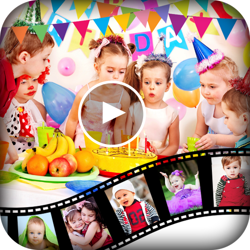 Birthday Video Maker : Kids Birthday Movie Maker