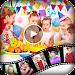 Birthday Video Maker : Kids Birthday Movie Maker Icon