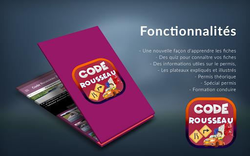 Code Rousseau 2018 - Code de la route France 2018  screenshots 2