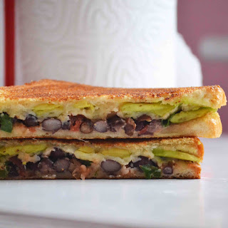 Mexican Grilled Cheese Sandwich.