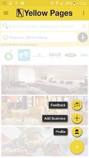 Yellow Pages SA - Maps, GPS...- screenshot thumbnail