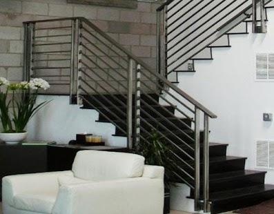 Steel railing design - náhled