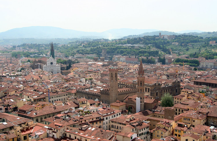 The cityscape of Florence. Here are Jessica's top 10 tips on things to do around the fabled city.