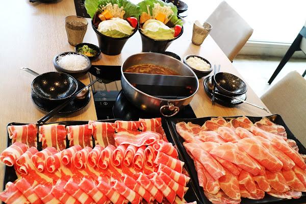 大初 SHABU SHABU,台北東區美食,近國父紀念館站,雙人餐大挑戰50oz,牛豬雙拼大肉盤,飲料.冰淇淋吃到飽