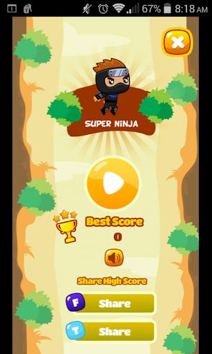 Super Ninja Jump Rush