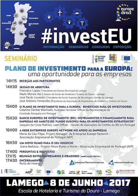Lamego promove seminário europeu dedicado ao investimento