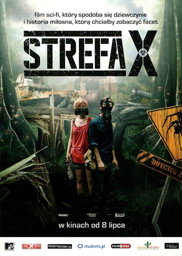 Przód ulotki filmu 'Strefa X'