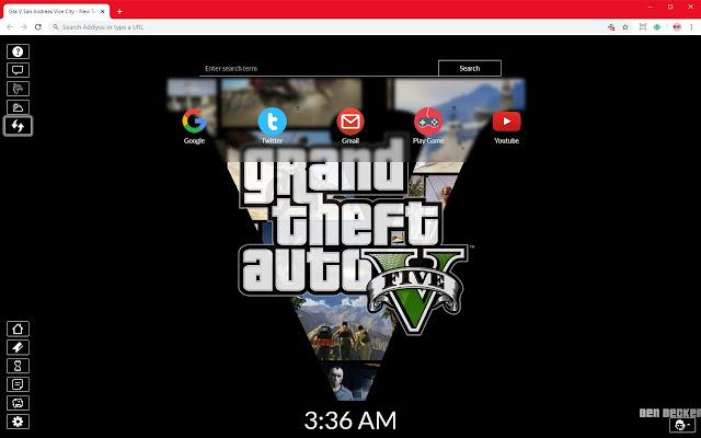 Gta V San Andreas Vice City Full HD New Tab