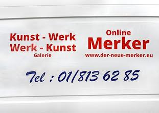 Photo: ONLINE MERKER www.der-neue-merker.eu und Galerie KUNST-WERK - WERK- KUNST in Wien 12, Zeleborgasse 20. Foto: Barbara Zeininger
