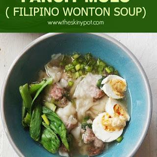 PANCIT MOLO ( FILIPINO WONTON SOUP)