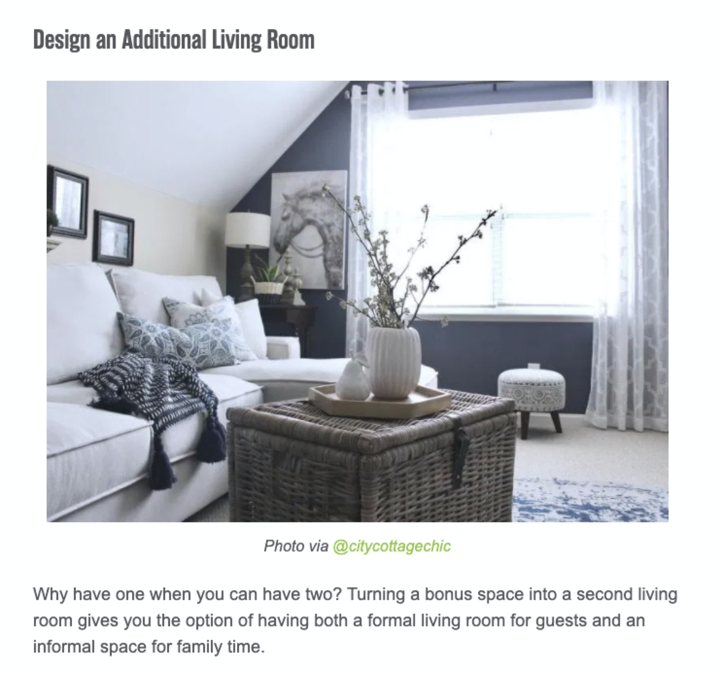 """SERP results for keyword """"bonus room ideas"""" featuring image results"""