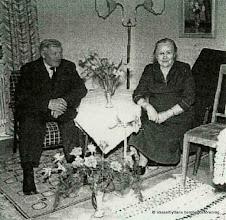Photo: Klasboda, Gustaf Andersson f. 1893  d. 1970, Ingrid Andersson f. 1888 d. 1963