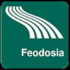 Mappa di Feodosia offline