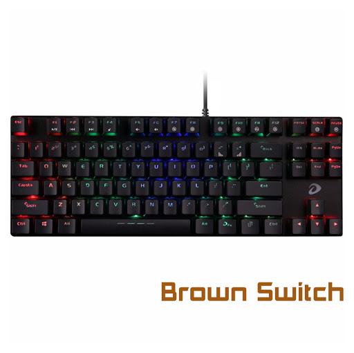 Bàn phím cơ Dareu EK880 Brown Switch-1