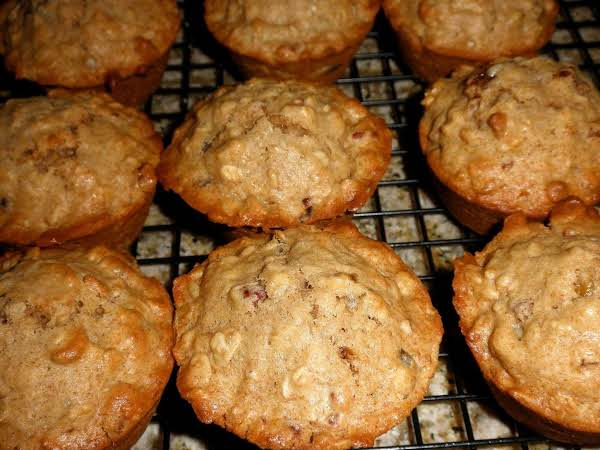 Oat And Apple Muffins Recipe