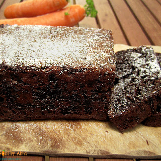 Chocolate Carrot Loaf.