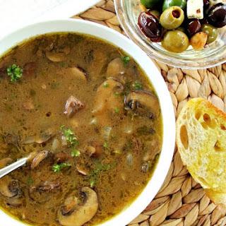 Leftover Pot Roast Soup.