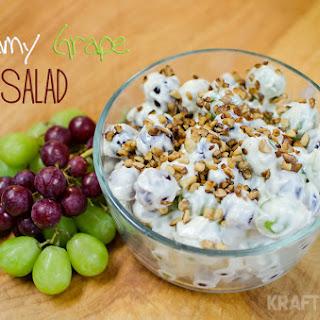 Creamy Grape Salad - Lightened Up!