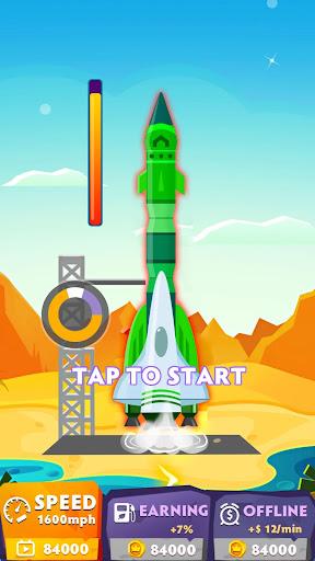 Télécharger Rocket Blue: Flying! mod apk screenshots 1