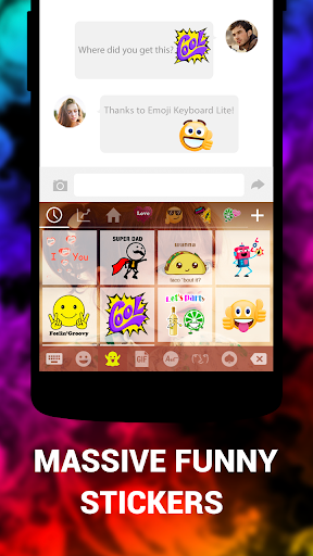 Emoji Keyboard Lite  screenshots 4