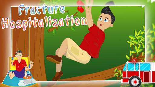 Fracture hospitalization