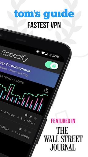 Speedify - Fast & Reliable VPN 10.3.1.9903 Screenshots 2