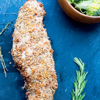 Pecan Crusted Pork Tenderloin with Honey Mustard Glaze