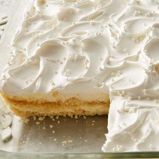 White Chocolate Cheesecake Cookie Lasagna.