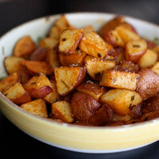 Roasted Red Potatoes with Smoked Paprika.