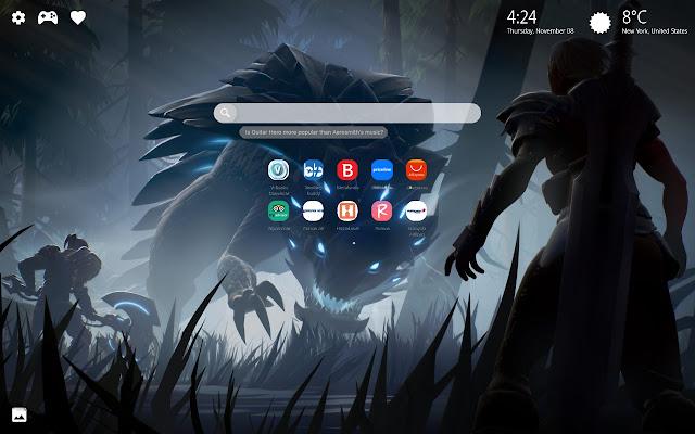 Dauntless Game New Tab Wallpaper HD