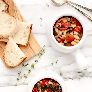 Vegan Tuscan Kale White Bean Stew Recipe