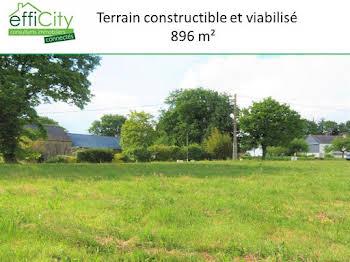 Terrain 896 m2