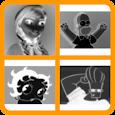 Negative Cartoon Quiz - Easy icon