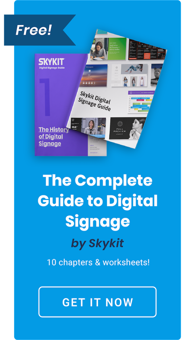 Download the Digital Signage Guide