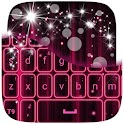 Pink Keyboard Neon icon