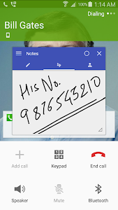 Call Notes (Floating) v1.01