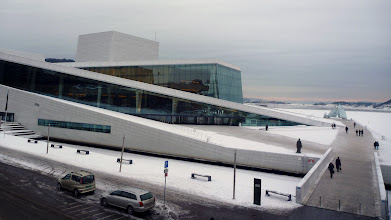 Photo: Oslo, l'opéra