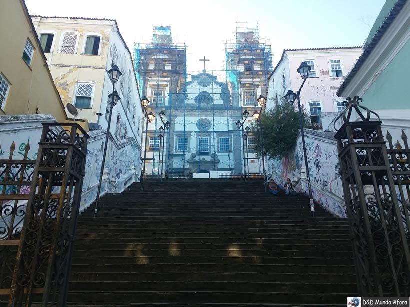 O que fazer em Salvador (Bahia) - Igreja do Santíssimo sacramento da Rua dos Passos